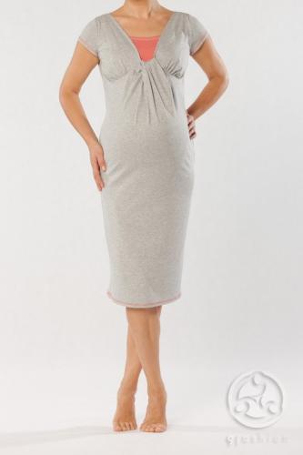 Almada Nursing Nightgown by 9 Fashion