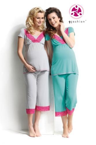 Lebby Nursing Cropped Pajamas by 9 Fashion
