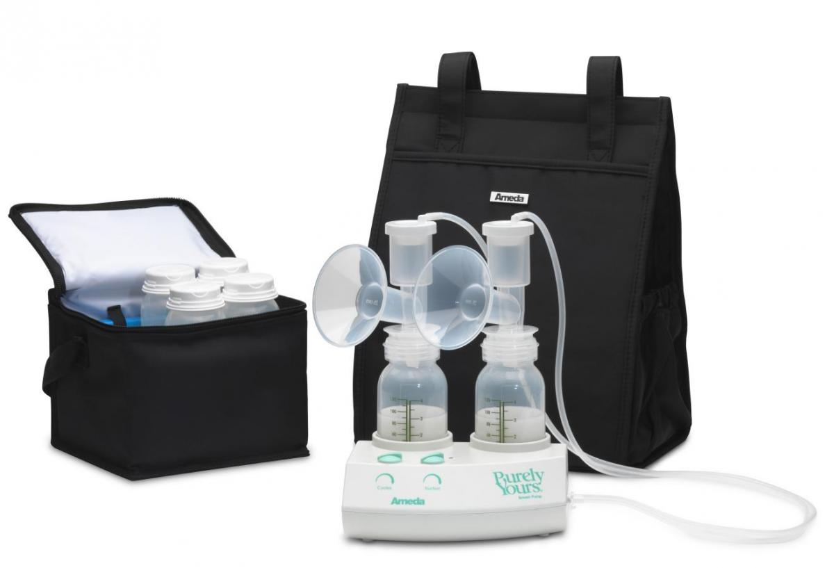 Ameda Purely Yours Breast Pump W Carry All