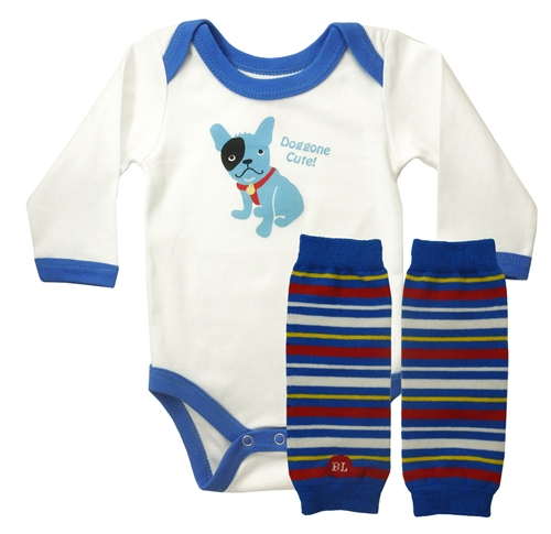 Newborn Babylegs & Longsleeve Bodysuit Gift Set
