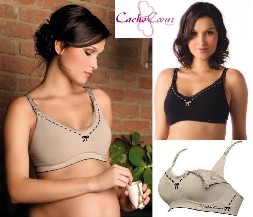 Cache Coeur Illusion Maternity/Nursing Bra