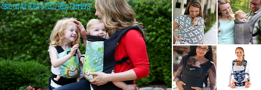 Sale on All Boba & Beco Baby Carrier Thru 12/7/16