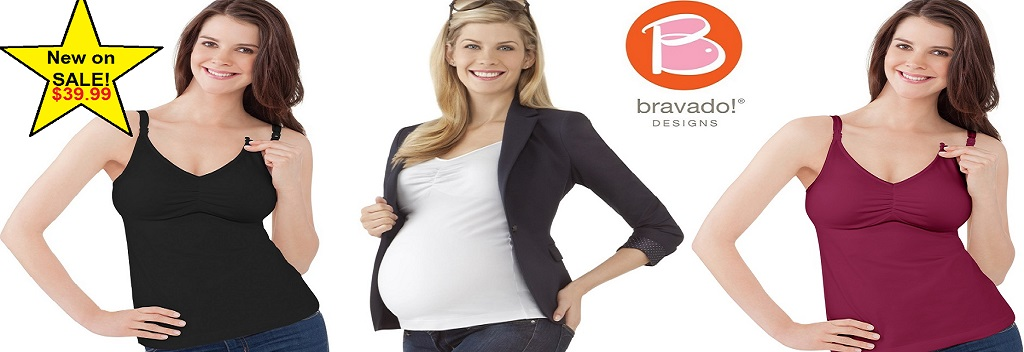 New on Sale $39.99 Bravado Essential Nursing Tanks