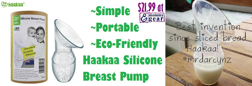New Haakaa Silicone Breast Pump $21.99 at Mommy Gear