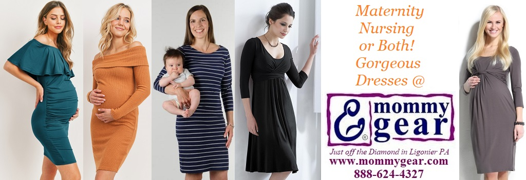 Maternity Wear & Nursing Wear for Breastfeeding Moms