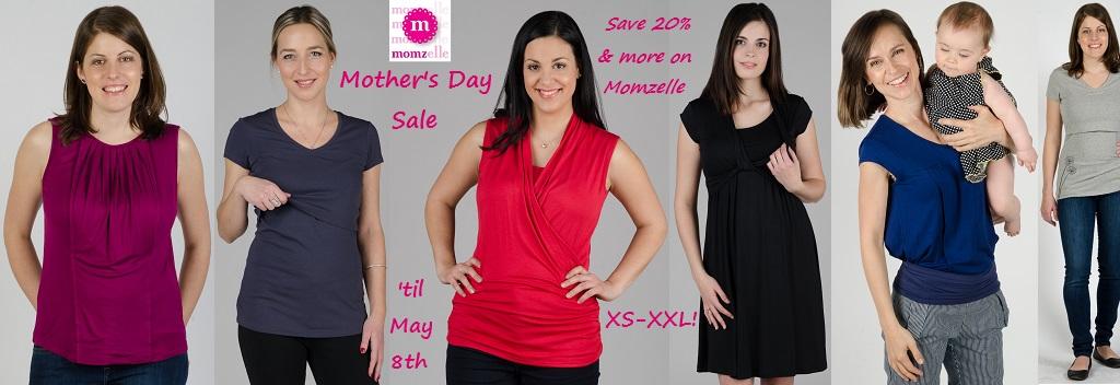 20%+ Off Momzelle Nursing Tops & Dresses 'til May 8th