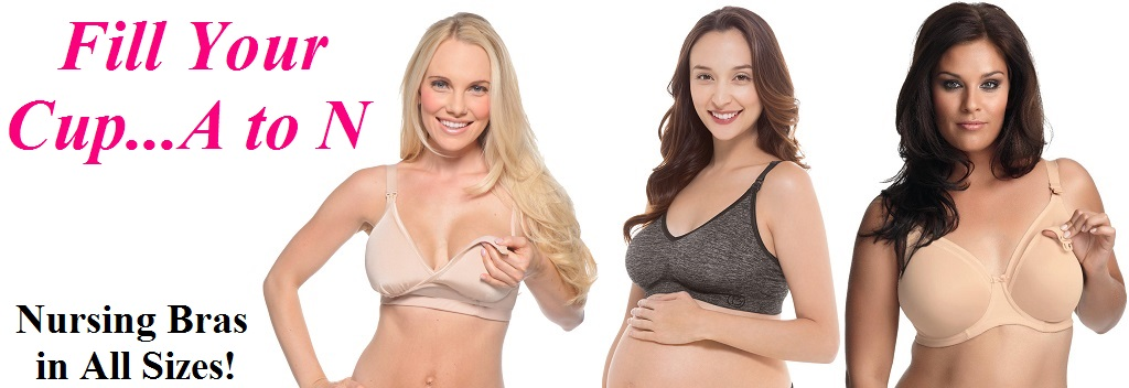 Great selection of Nursing Bras A-N