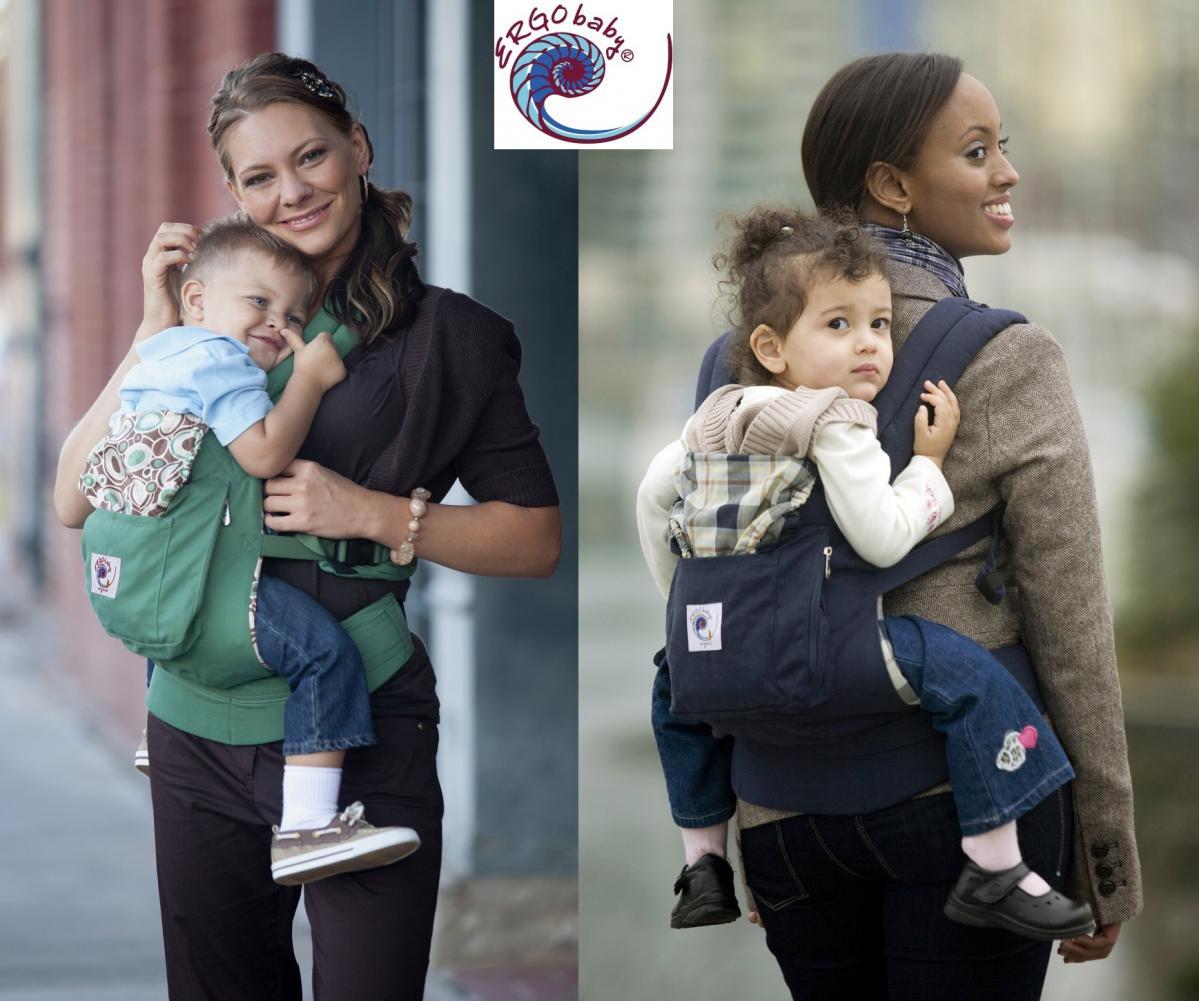 ergo baby carrier back