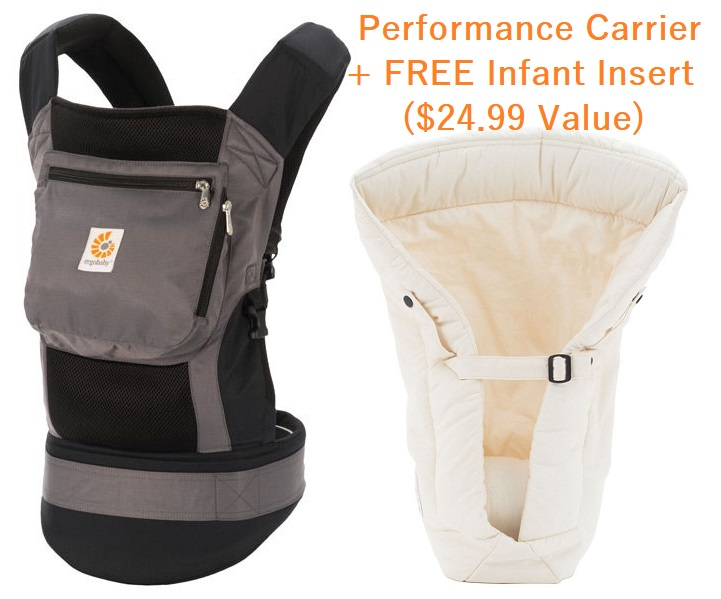 Performance Ergobaby Carrier Free Infant Insert