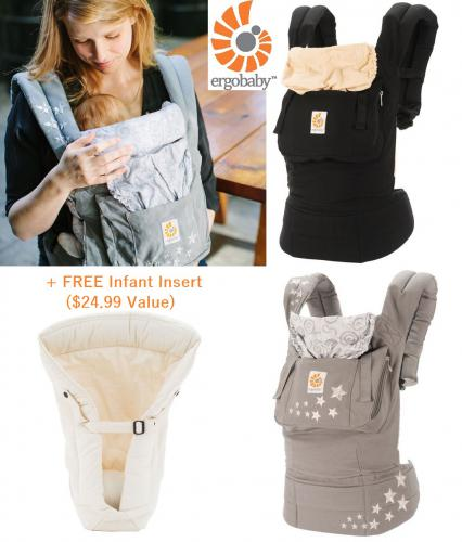 bc10ec5e0c1 Original ERGObaby Carrier + Free Infant Insert