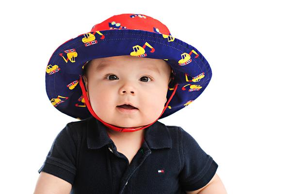 ea918cb6083 FlapJack Reversible Baby Sun Hat