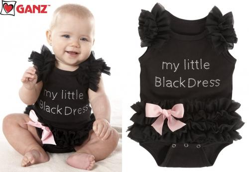 My Little Black Dress Tutu Bodysuit