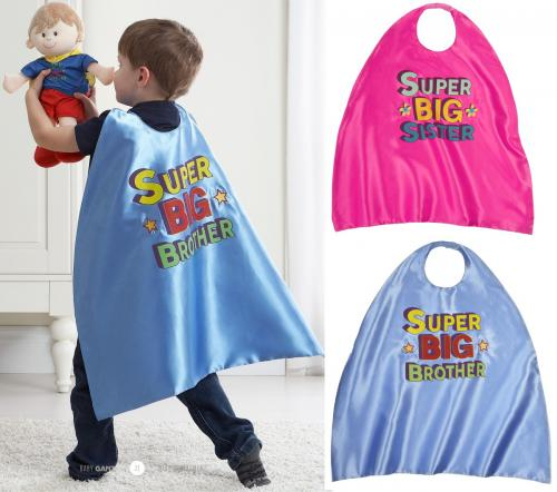 Super Big Brother or Big Sister Cape
