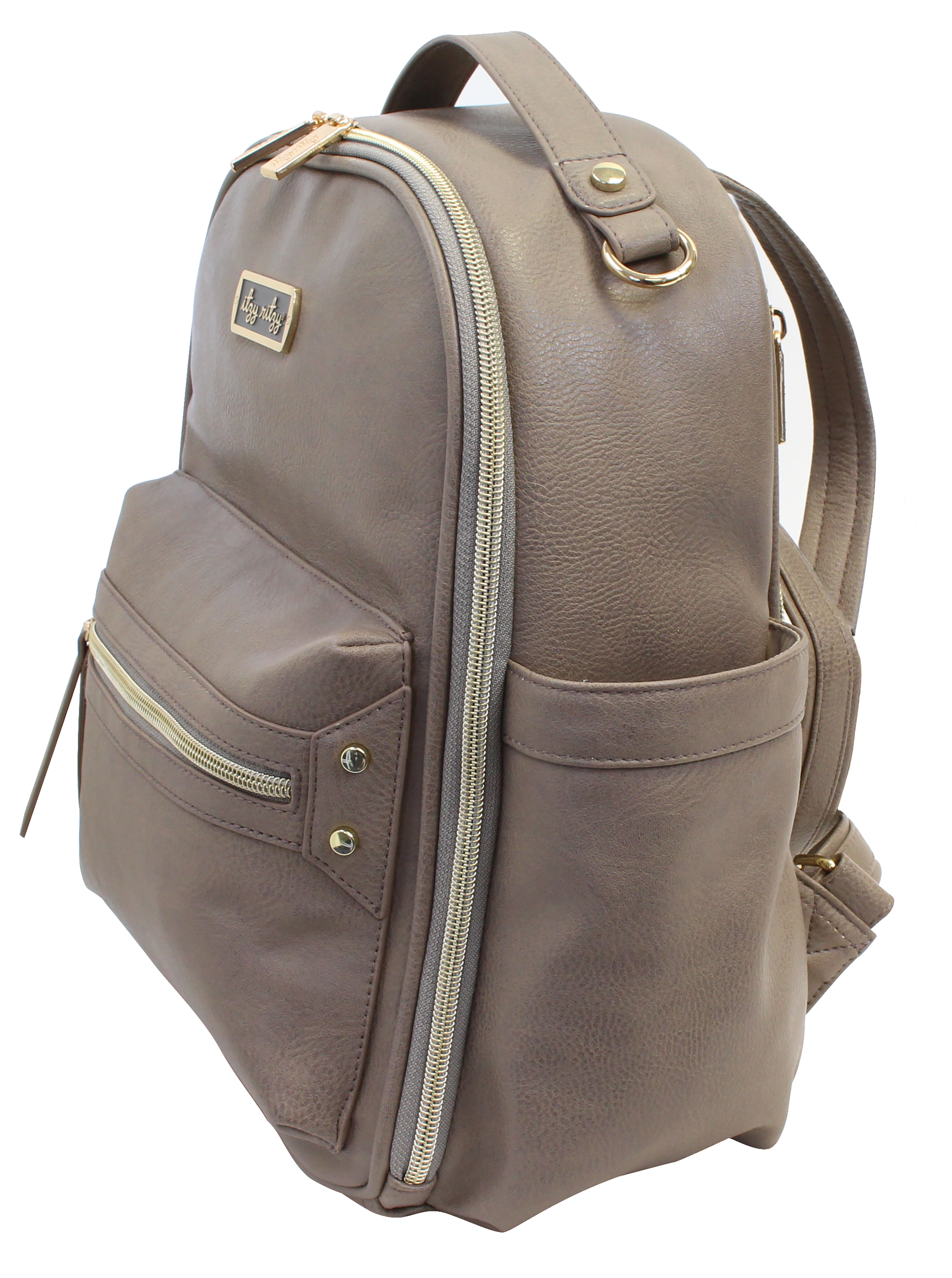 itzy-ritzy-mini-backpack-diaper-bag-taupe-angle