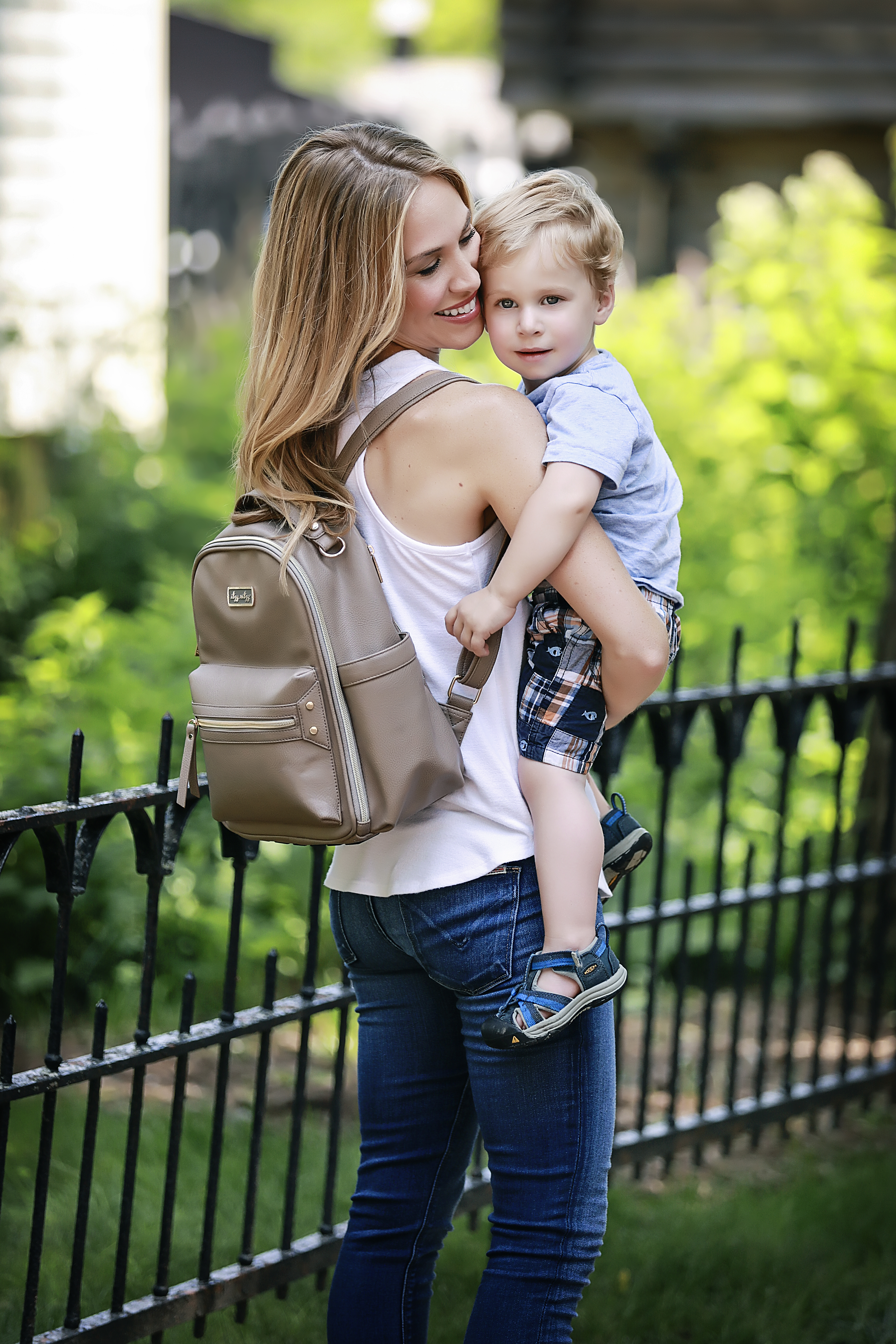 itzy-ritzy-mini-backpack-diaper-bag-taupe-mom-3