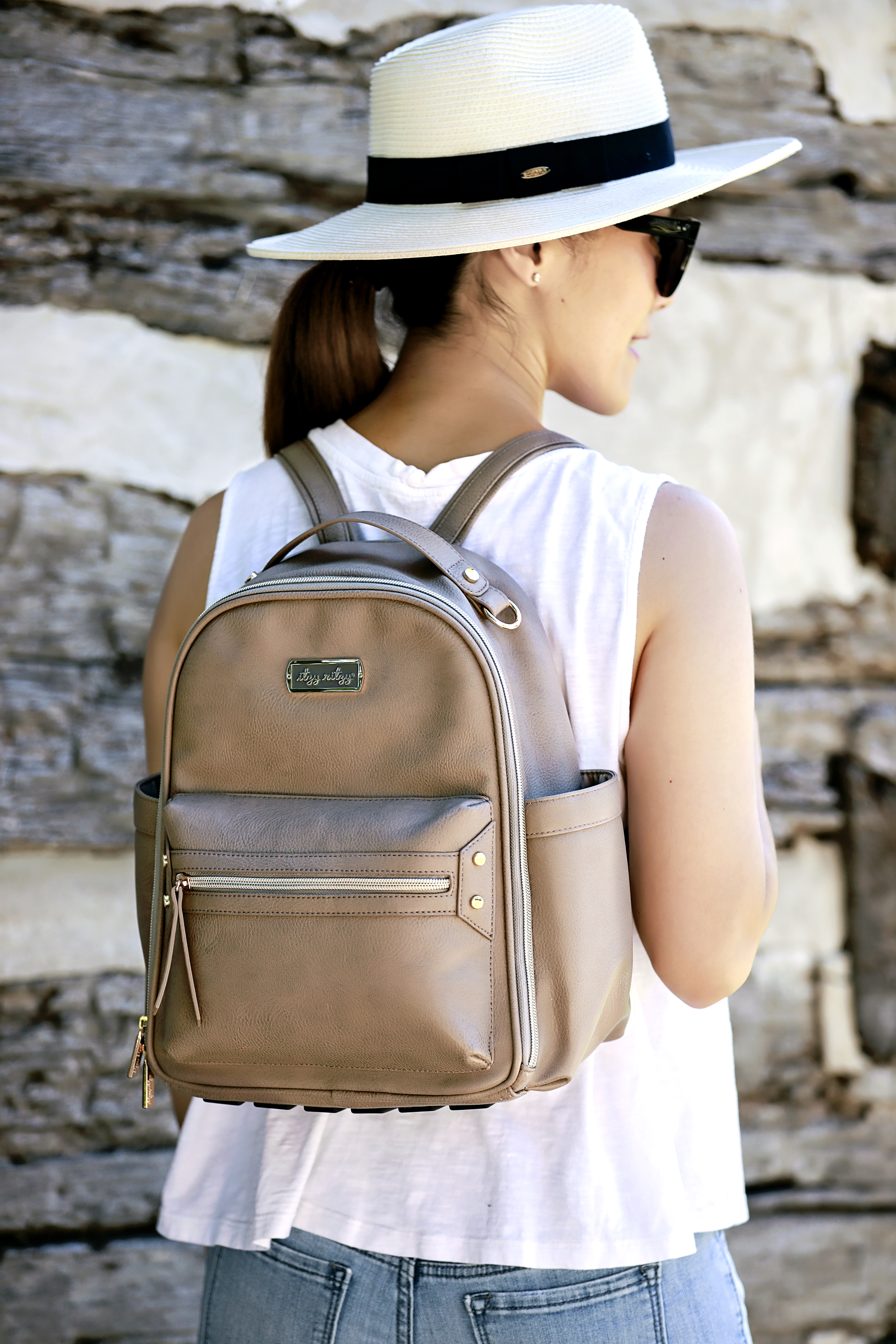 itzy-ritzy-mini-backpack-diaper-bag-taupe-mom