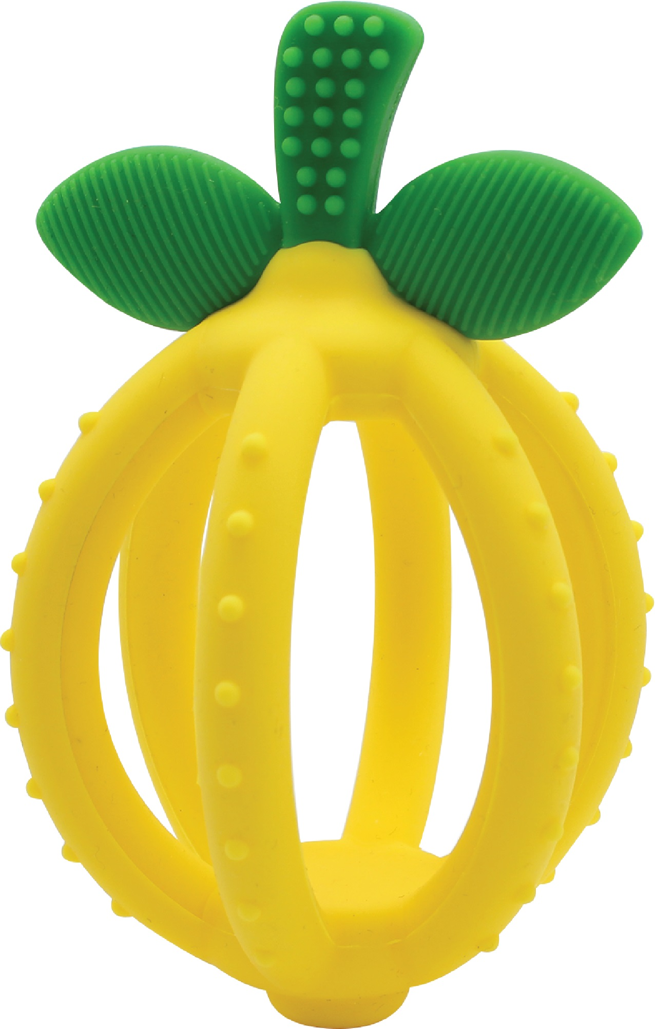 itzy-ritzy-teether-ball-lemon