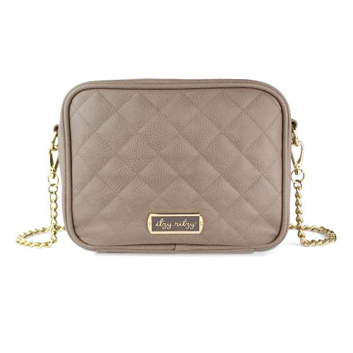 Itzy Ritzy Crossbody Diaper Bag - Taupe