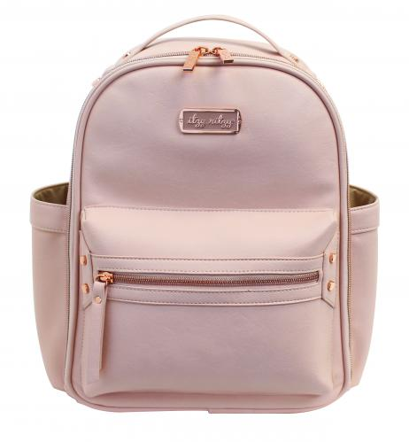 Itzy Ritzy Mini Backpack Diaper Bag - Blush