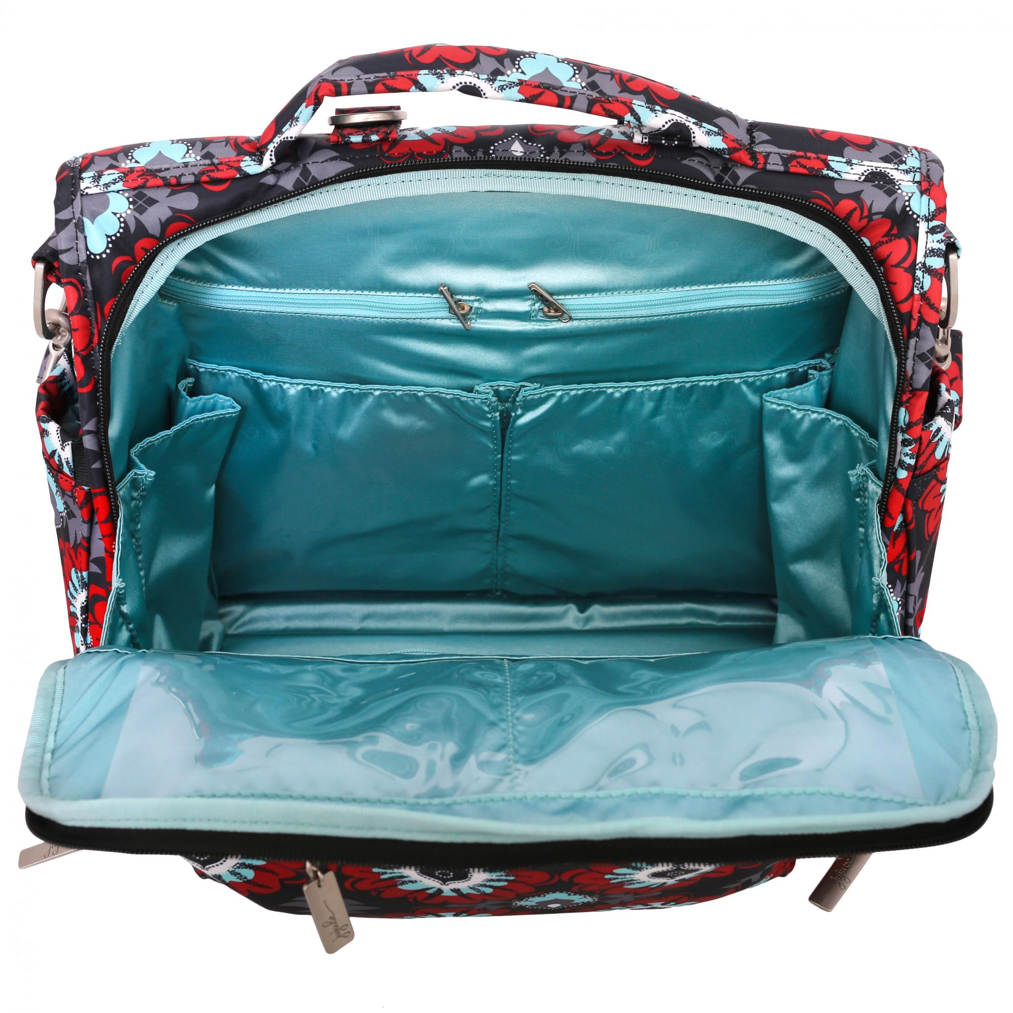 ju ju be b f f diaper bag sweet scarlet. Black Bedroom Furniture Sets. Home Design Ideas