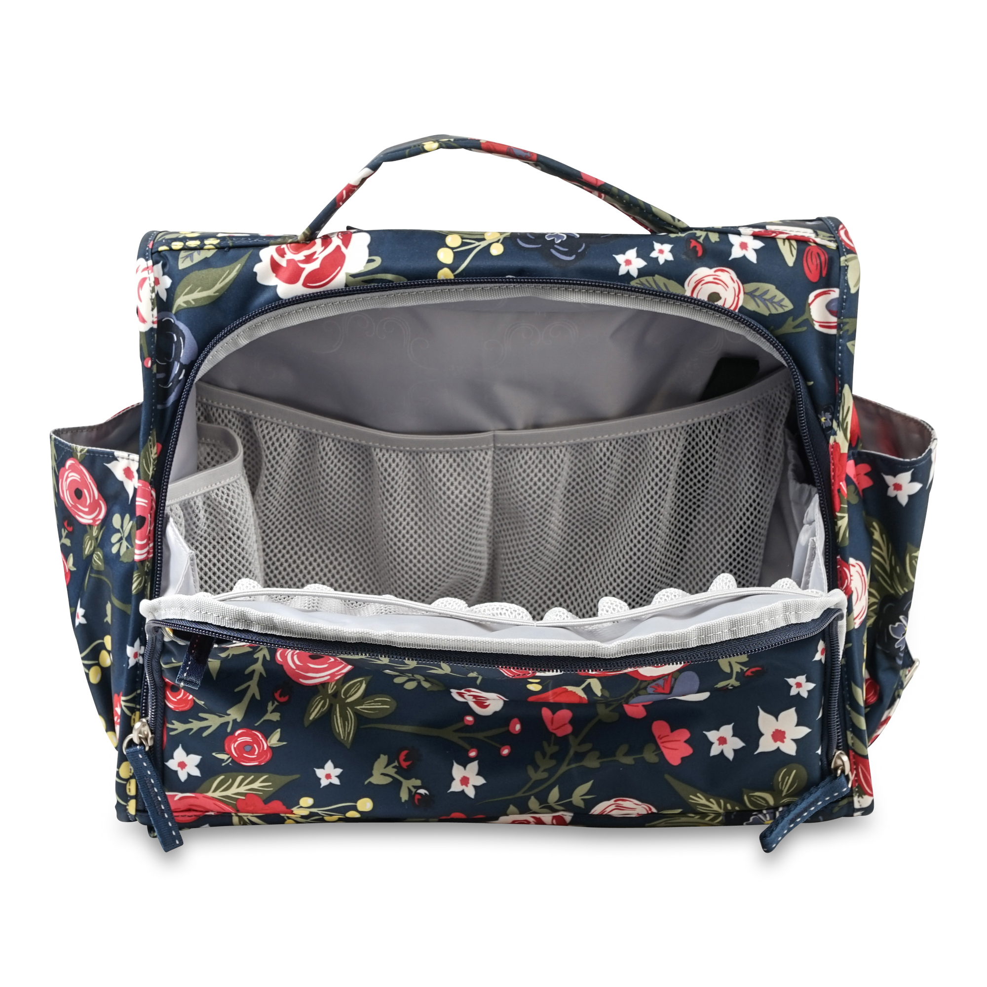 ju-ju-be-midnight-posy-classic-convertible-diaper-bag-4