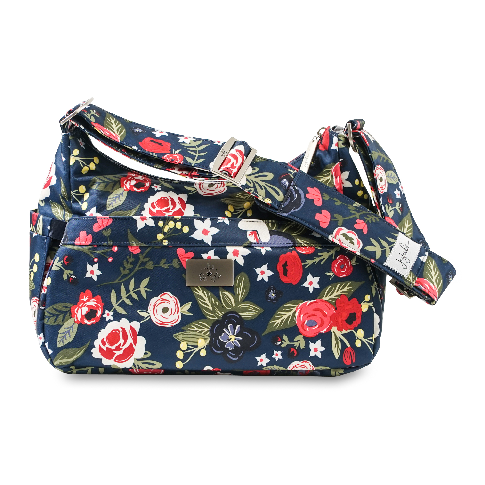 Ju Be Hobobe Diaper Bag Midnight Posy