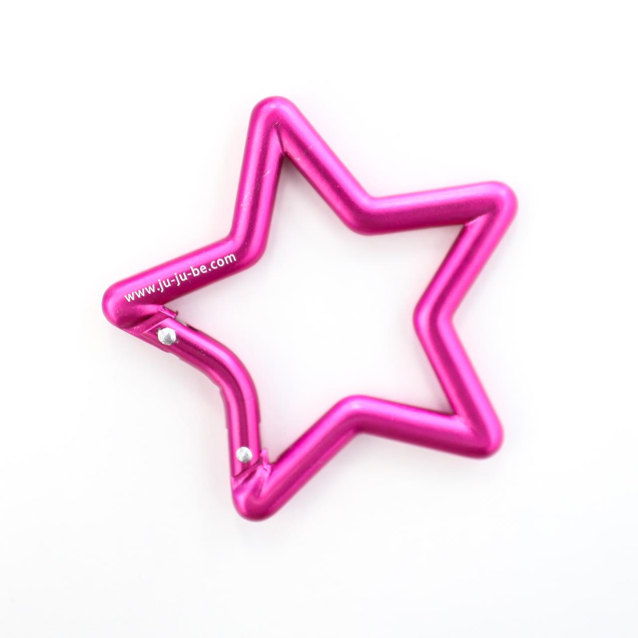 ju-ju-be-pink-star-carabiner