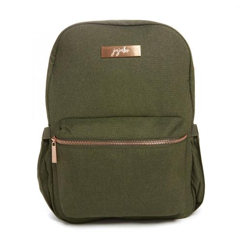 Ju-Ju-Be Midi Backpack - Chromatics Olive + Free Key Wristlet & Coin Purse