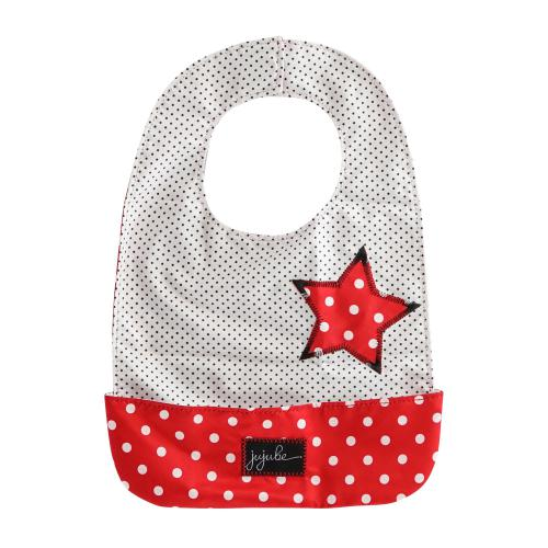 Ju-Ju-Be Be Neat Bib - Black Ruby