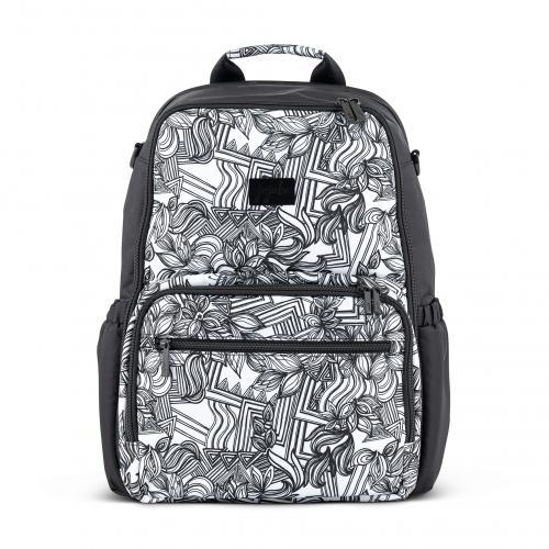 Ju-Ju-Be Zealous Backpack - Sketch Onyx + Free Coin Purse