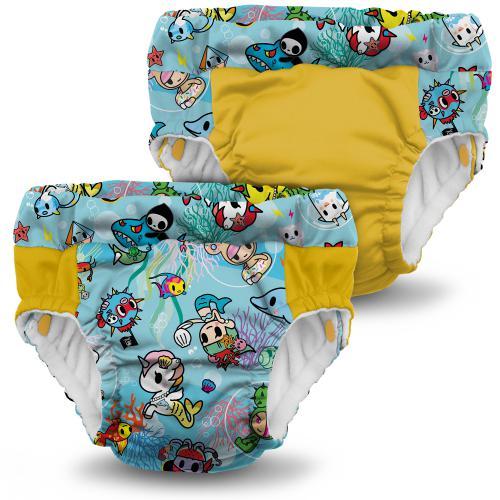 Kanga Care Lil Learnerz Training Pants & Swim Diaper--2 Pack
