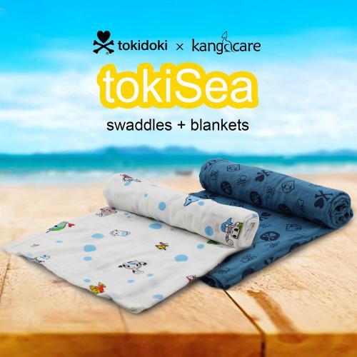 Kanga Care Serene Swaddles - Premium Bamboo Swaddle Blankets (2pk) - tokiSea