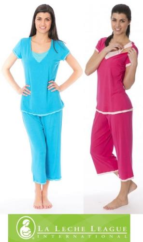 Comfy T-Shirt Nursing PJs by La Leche League Intimates