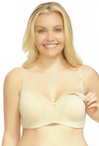 La Leche League Heavenly Padded Softcup Nursing Bra