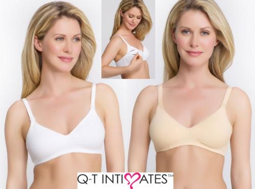 QT Molded Cotton Nursing Bra