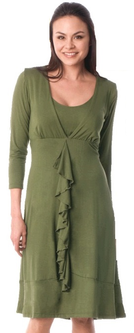 majamas-spiral-nursing-dress-olive