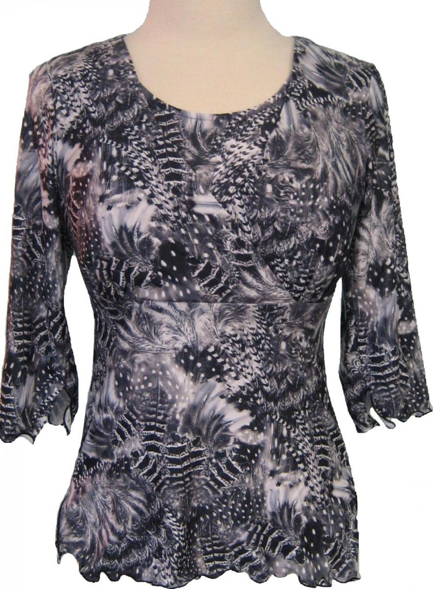 majamas-softest-nursing-top-feather-print