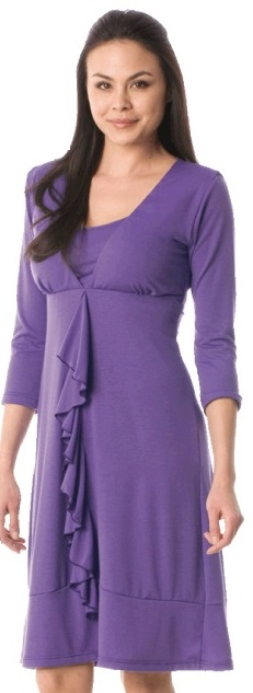 majamas-spiral-nursing-dress-purple