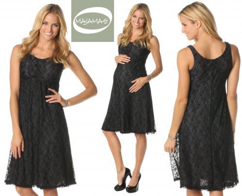 Majamas Lace Market Nursing Dress