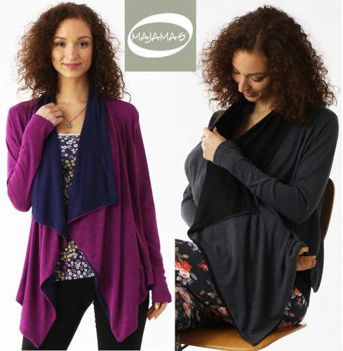 Majamas Stola Nursing & Maternity Cover-Up Cardi