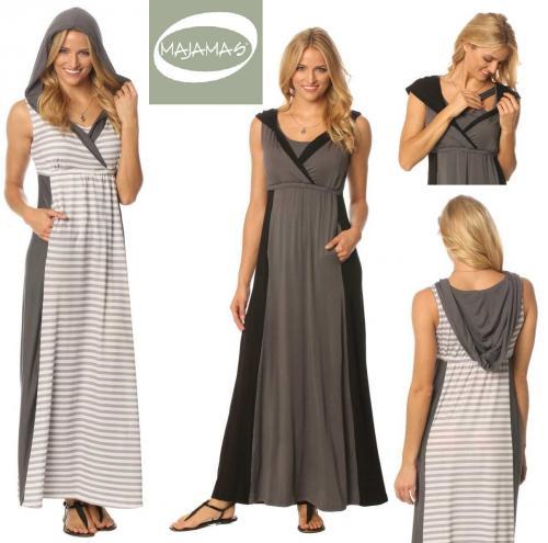 Majamas Weekend Nursing Maxi Dress