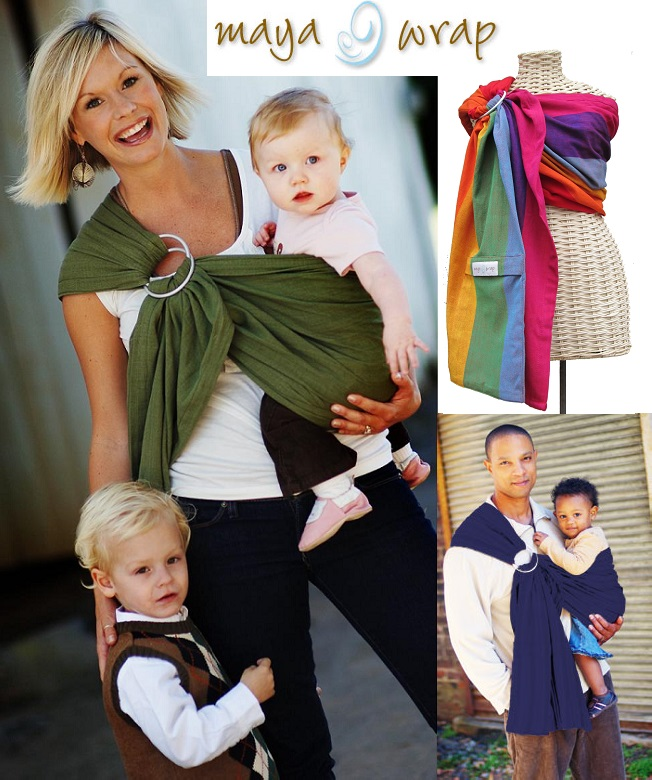 Maya Wrap Lightly Padded Baby Sling