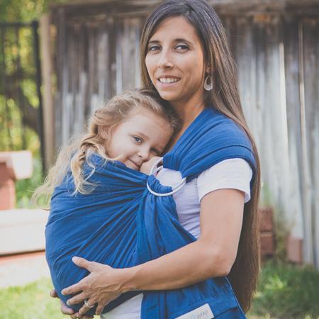 How to maya wear wrap baby sling forecast dress in winter in 2019