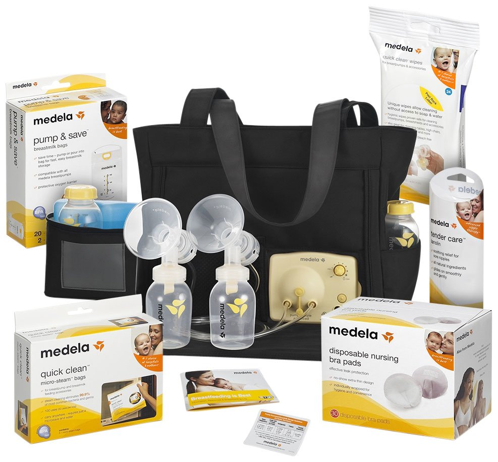 ba4a30f5ac292 Medela Pump In Style Advanced Breastpump Solution Set w  Accessories