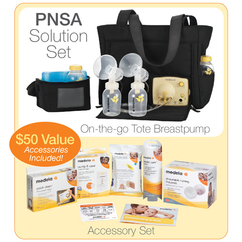 Medela Pump In Style Advanced Breastpump Solution Set W Accessories