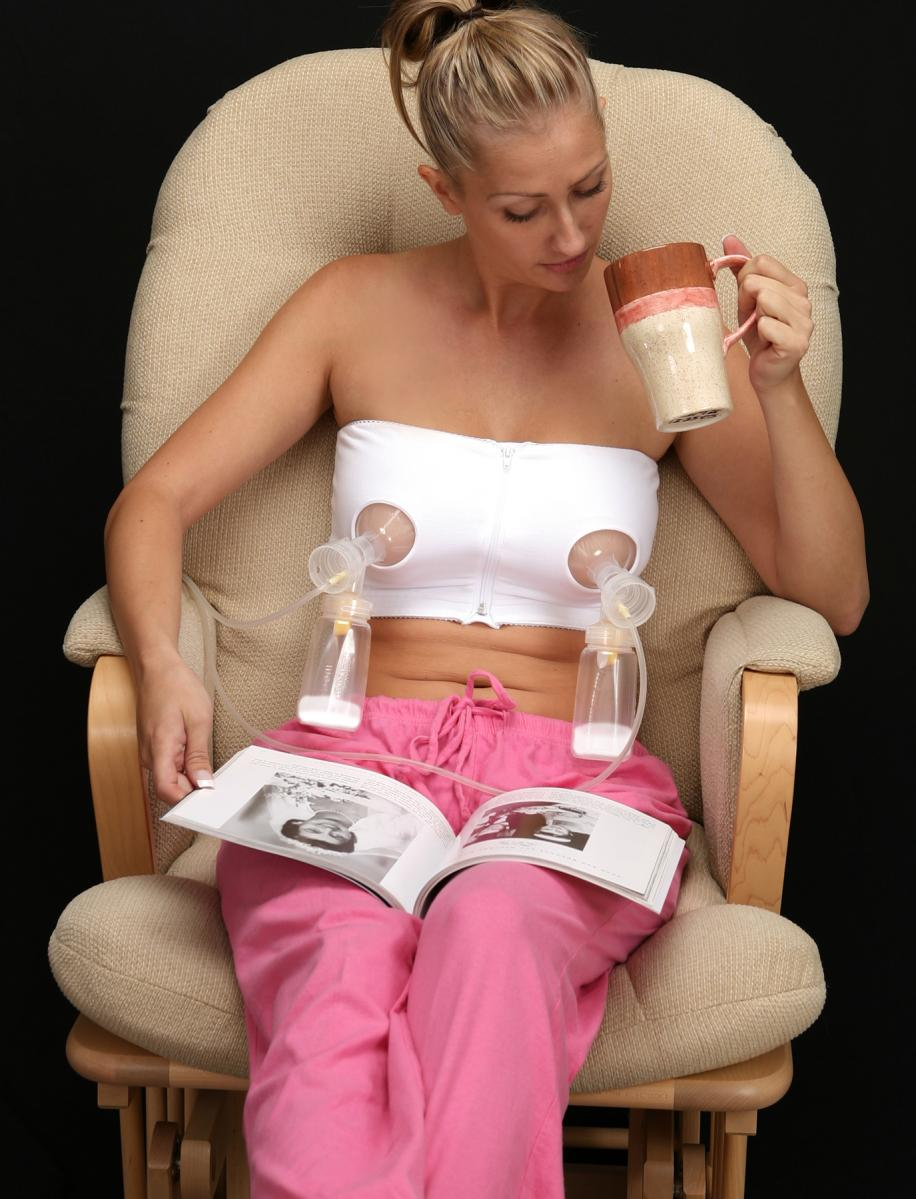 Easy expressions breast pump bustier