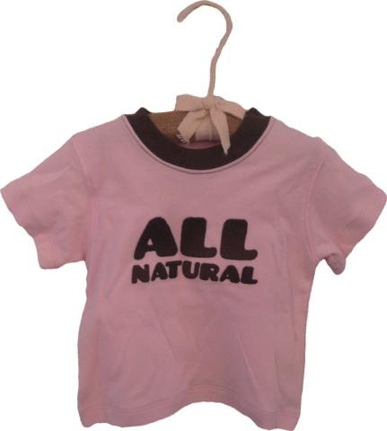 All Natural Organic Cotton Tee