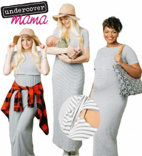 Undercover Mama Nursing Dress