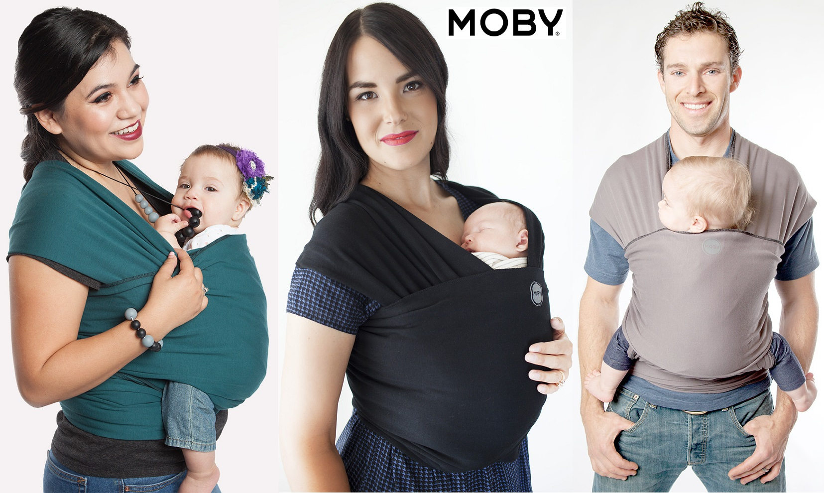 Moby Wrap Classic Cotton Baby Carrier