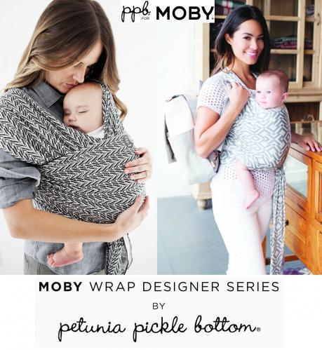 ebfcd115bca Moby Wrap Petunia Pickle Bottom Baby Carrier